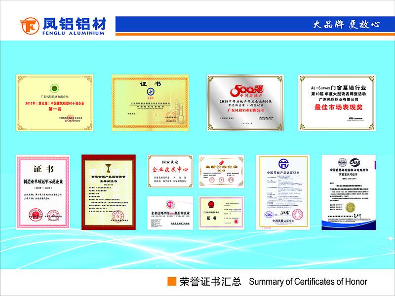 荣誉证书(横版)